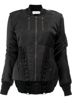 Faith classic fitted bomber jacket