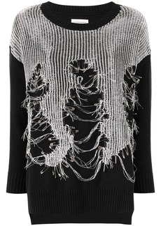 Faith Connexion embellished knit jumper