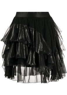 Faith Connexion frill-trim A-line skirt