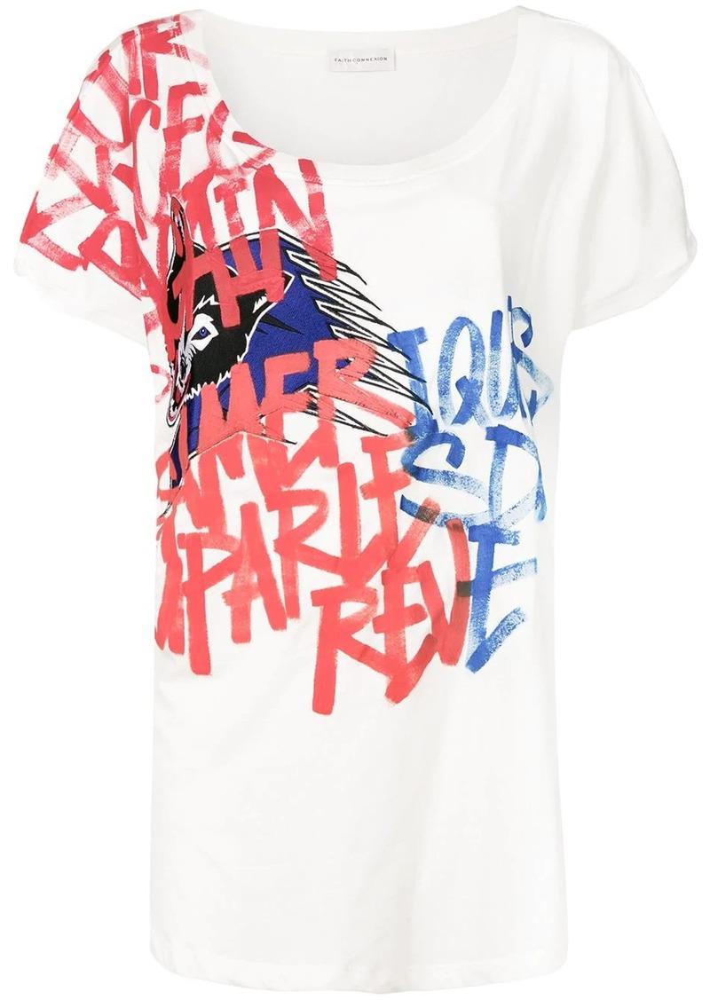 Faith Connexion graffiti T-shirt