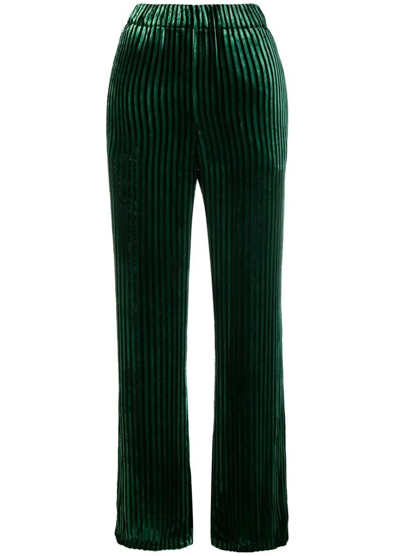 Faith Connexion high-waisted striped trousers