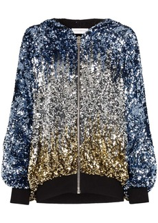 Faith Connexion sequin-embellished hooded jacket