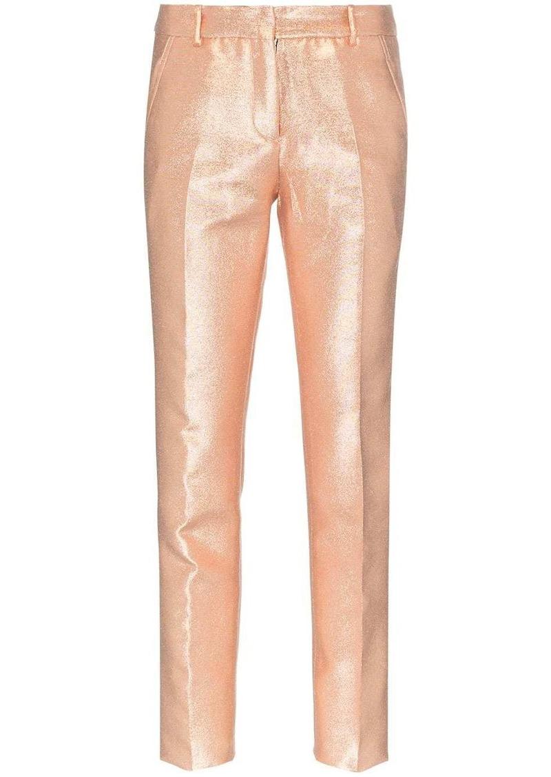 Faith Connexion tailored metallic trousers