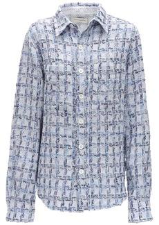 Faith Connexion Tweed Shirt Jacket