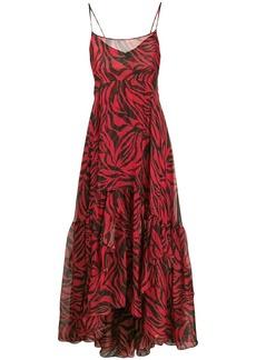 Faith Connexion zebra print maxi dress