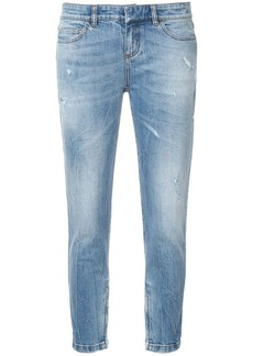 Faith cropped skinny-fit jeans