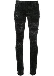 Faith destroy skinny jeans