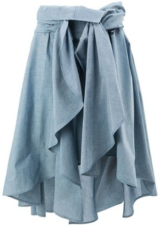 Faith draped skirt