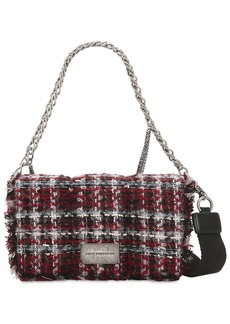 Faith Embellished Lurex Tweed Shoulder Bag