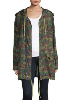 Faith Camouflage Parka Jacket