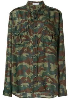 Faith camouflage print shirt