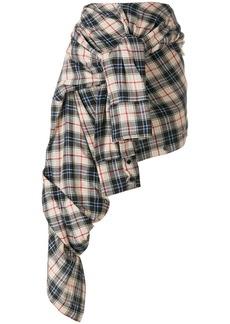Faith Check shirt skirt