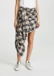 Faith Connexion Check Shirt Skirt