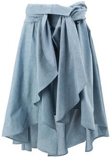 Faith draped skirt