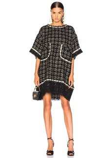 Faith Connexion Embellished Tweed Dress