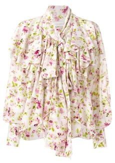 Faith floral print blouse