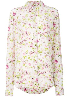 Faith floral print shirt
