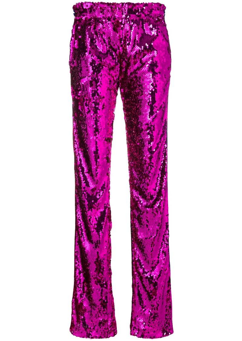 Faith Connexion high-waisted sequin trousers