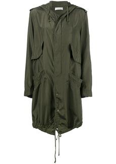 Faith hooded raincoat