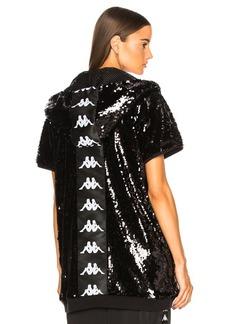 Faith Connexion Kappa Sequin Hooded Sweater