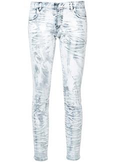 Faith patch skinny jeans