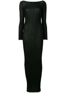 Faith ribbed-knit maxi dress
