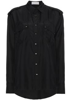 Faith Silk Chest Pocket Shirt