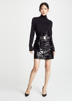 Faith Connexion Vinyl Skirt