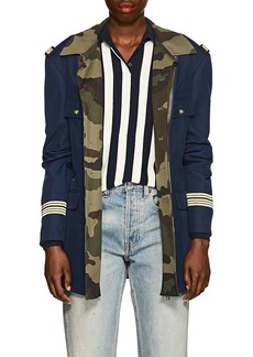 Faith Connexion Women's Gabardine & Twill Military Jacket