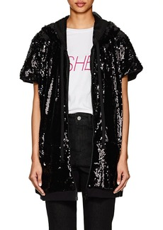 Faith Connexion Women's Sequined Short Sleeve Jacket