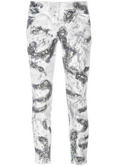 Faith glitter detail skinny jeans