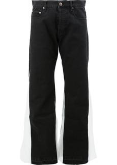 Faith insert flared jeans