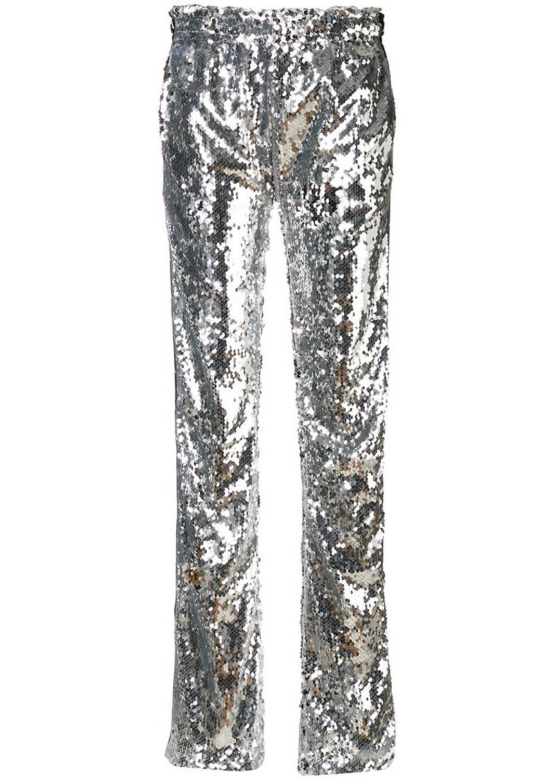 47b76796b4 Faith Connexion Kappa sequin trousers | Casual Pants