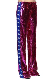 Faith Kappa Sequined Track Pants