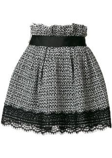 Faith lace trimmed shorts