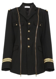 Faith Military jacket with zip detailing