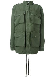 Faith multiple patch pockets jacket
