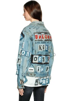 Faith Ntmb Patched Cotton Denim Jacket