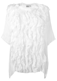 Faith oversized ruffle blouse