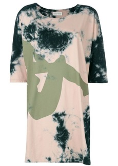 Faith Connexion oversized tie dye T-shirt