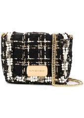 Faith Connexion pearl embellished bouclé bag