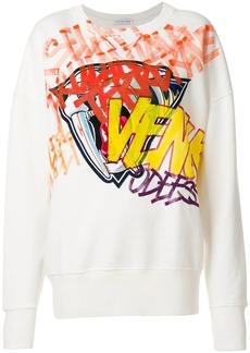 Faith print sweatshirt