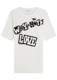 Faith Printed Cotton T-Shirt