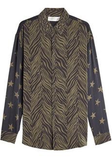 Faith Printed Silk Blouse