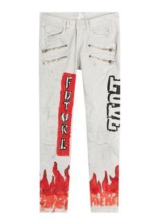 Faith Printed Skinny Jeans