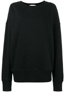 Faith rear printed sweatshirt