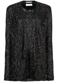 Faith sequin-embellished mini dress