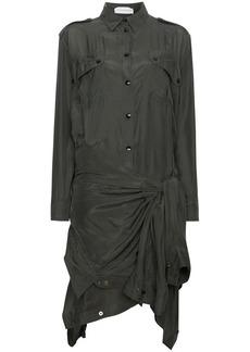 Faith Silk Double Shirt Dress