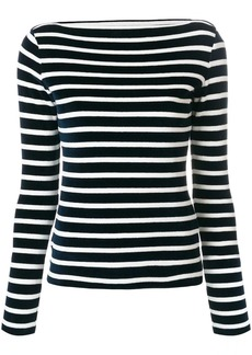 Faith striped sweatshirt