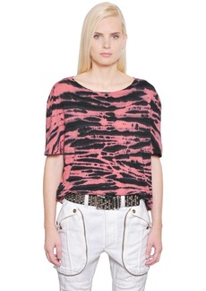 Faith Tie Dye Cotton Jersey T-shirt